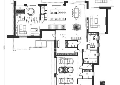 gotowy projekt domu garaże