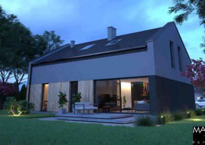 dom piętrowy gotowy projekt