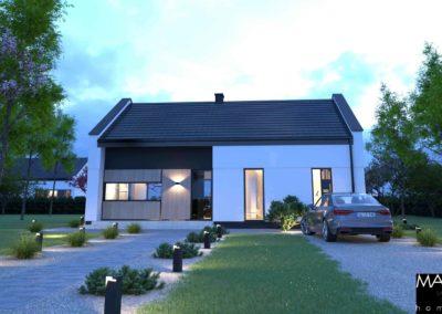 gotowy projekt dom parterowy